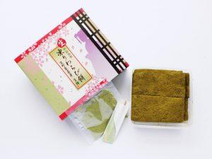 生 凍りわらび餅 宇治抹茶 開封した写真