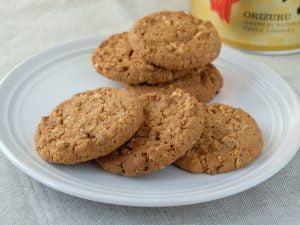 百年からす麦 プレミアムクッキー おりづる 中身の写真