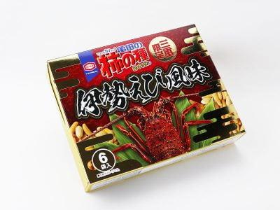 三重県限定 亀田の柿の種ピーナッツ入り(伊勢えび風味)