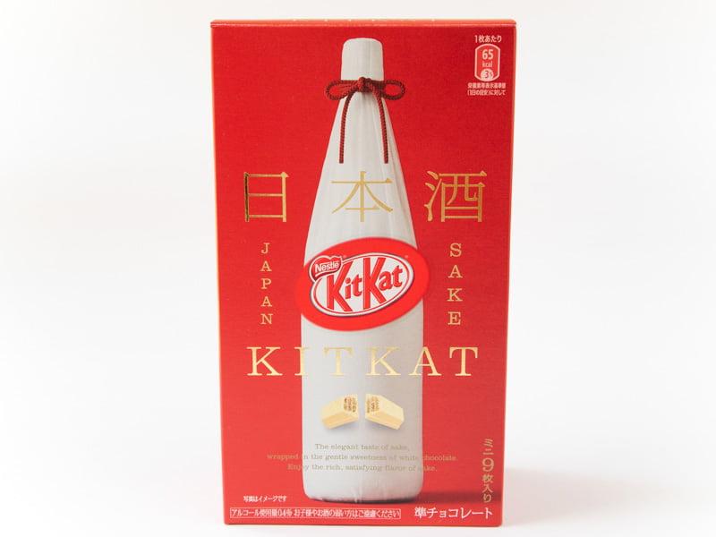 キットカットミニ日本酒満寿泉 外装