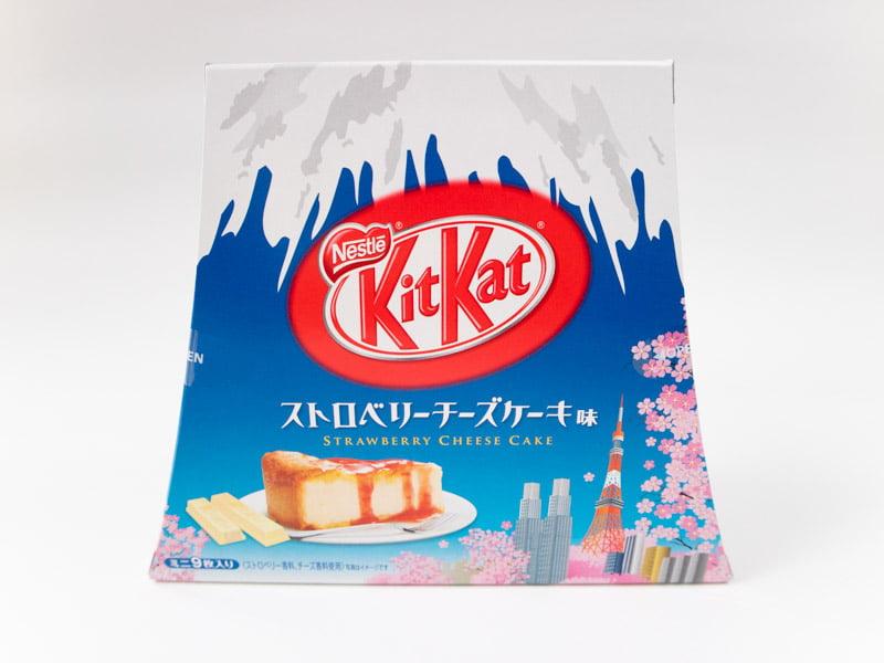 キットカットミニストロベリーチーズケーキ味富士山パック 外装