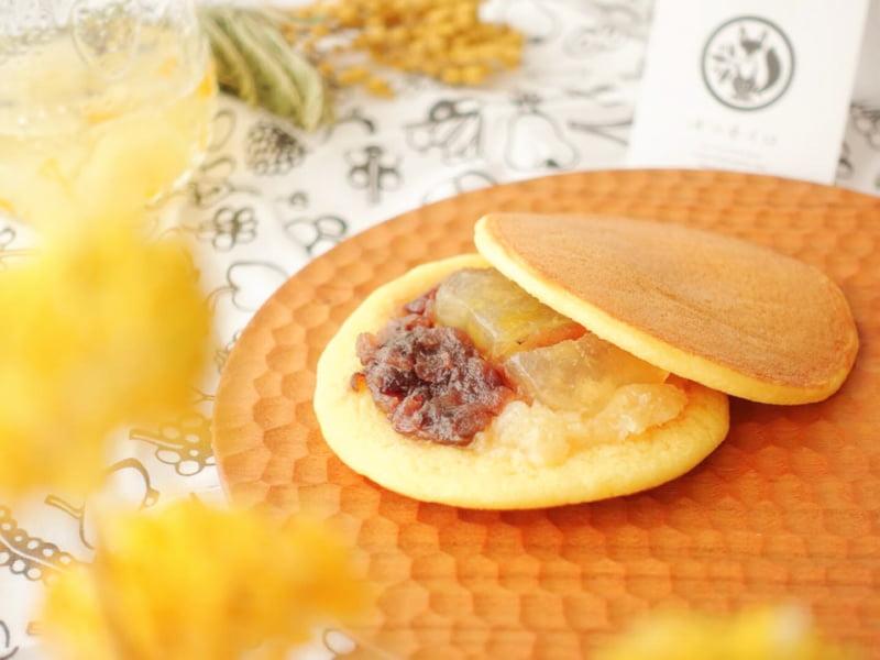 キツネイロ パイナップルバターどら焼き 中身