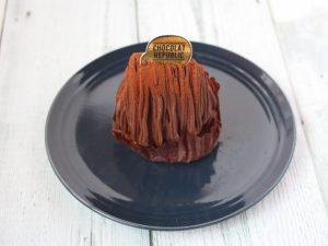 ショコラリパブリック神戸生チョコケーキ中身写真