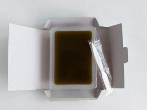 四万十茶楽々一番茶わらび餅 中身