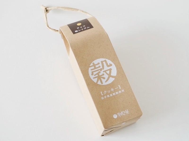 芽吹き屋 穀クッキー(チョコ・穀シリアル)外装