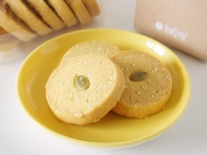 芽吹き屋 穀クッキー(あわ・南瓜)中身