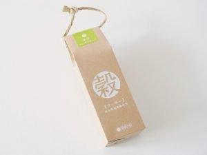 芽吹き屋 穀クッキー(きび・ヘーゼルナッツ)外装