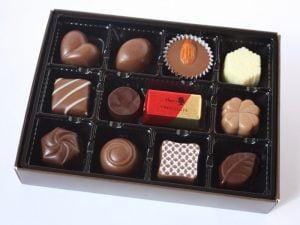 メリーチョコレート ファンシーチョコレート開封写真