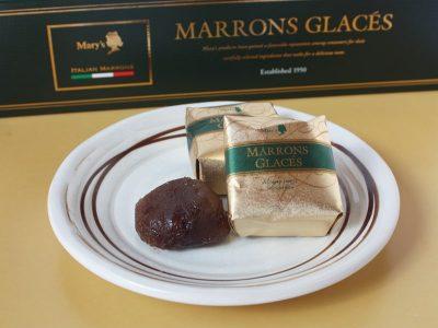 メリーチョコレート マロングラッセ