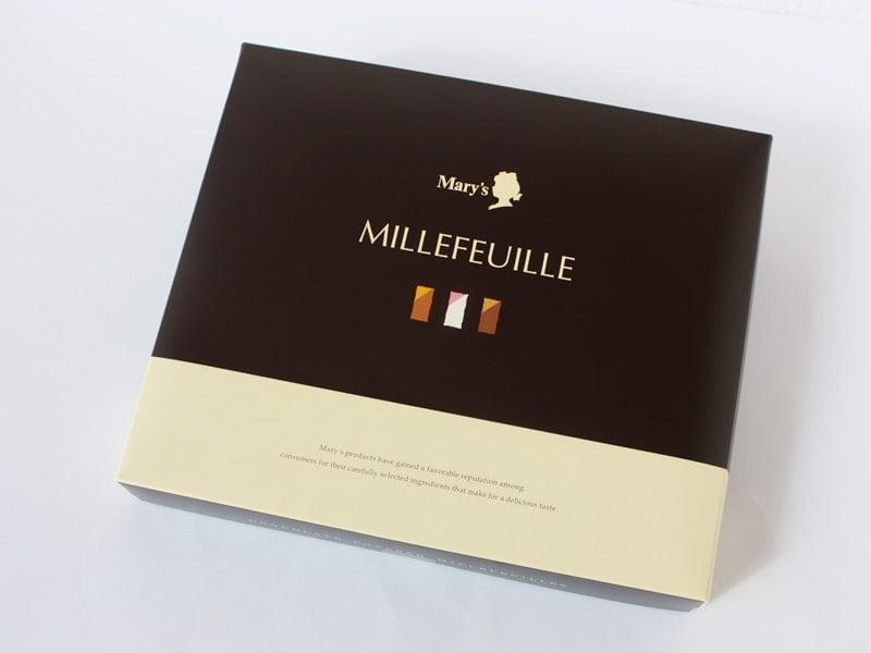メリーチョコレートのミルフィーユ外装写真