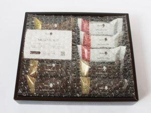 メリーチョコレートのミルフィーユ開封写真