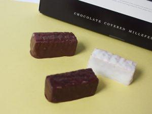 メリーチョコレートのミルフィーユ中身写真
