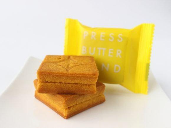 プレスバターサンド檸檬の中身と個包装