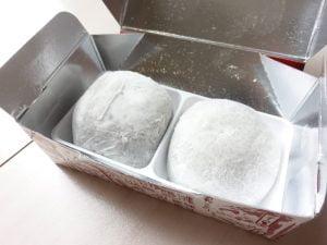 長五郎餅を開封してみたところ