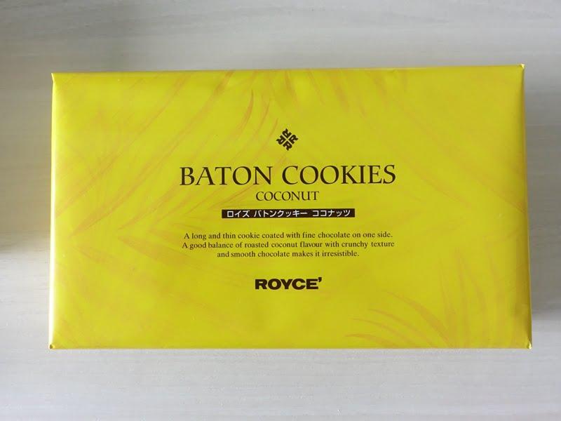 ロイズ バトンクッキー ココナッツ 外装写真
