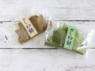 六花亭 かしわ餅(みそ餡・こし餡)